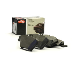 Delphi brake system disc brake brake pad set general