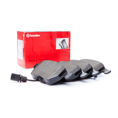 Brembo brake system disc brake brake pad set with contact