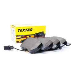 Textar brake system disc brake brake pad set with contact