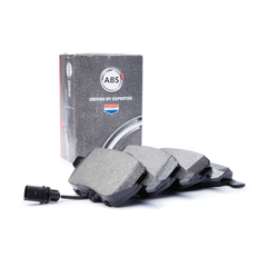 A b s brake system disc brake brake pad set with contact